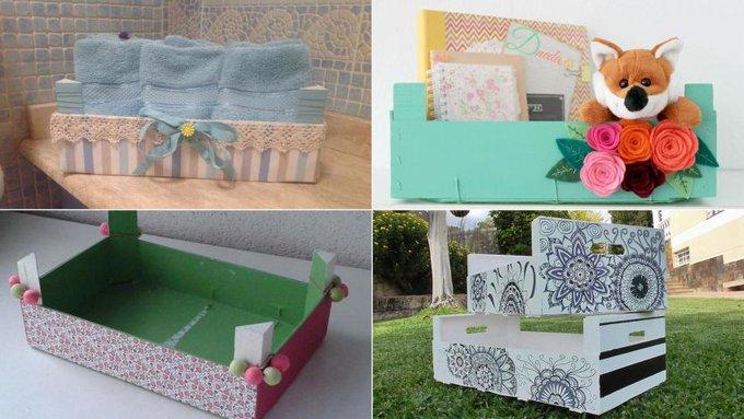 Ideas DIY para reciclar cajas de madera