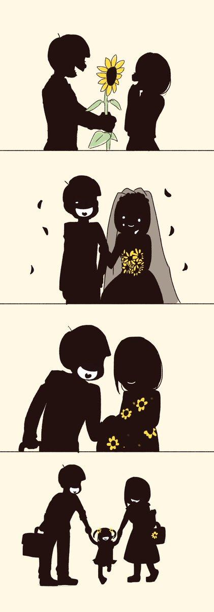 【十カノ漫画】『向日葵』(おそ松さん)