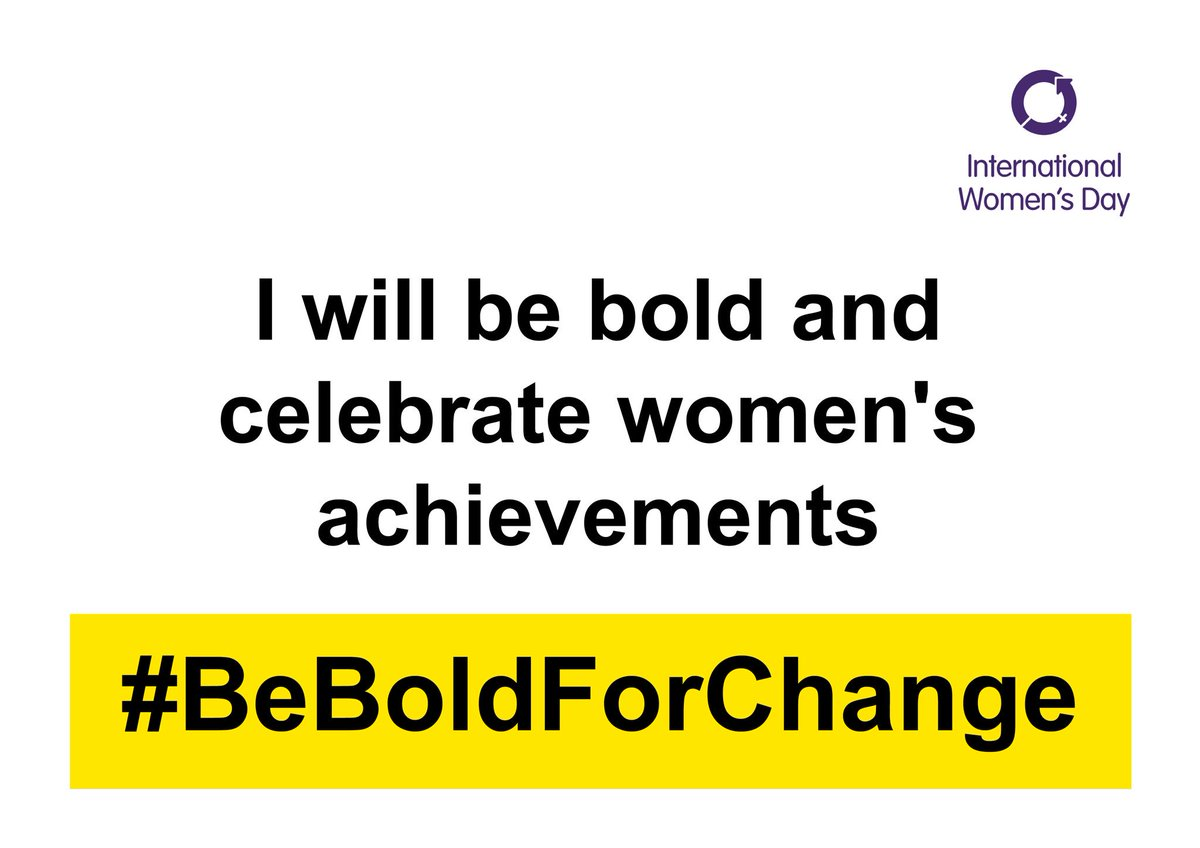 #BeBoldForChange #IWD2017 proud to be given the chance to inspire young women to achieve https://t.co/QbowXNyqKg
