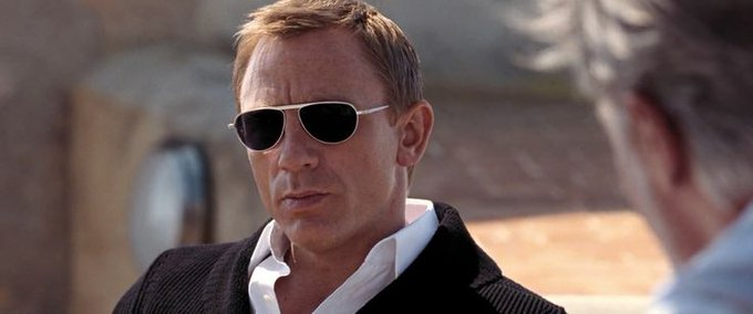 Happy Birthday to our favorite James Bond, actor Daniel Craig!