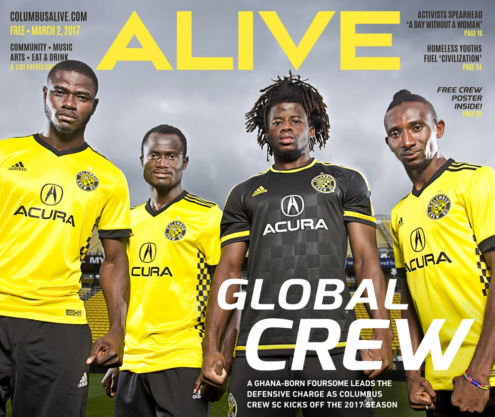 Love @ColumbusCrewSC? Pick up the new Alive today. #CrewSC https://t.co/t7yEAOvt3S