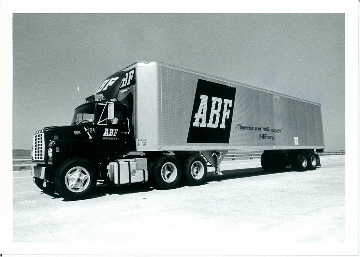"ABF Freight on Twitter: ""Throwback Thursday: In 1969, ABF Freight started the ""Appreciate Your Traffic Manager (ABF does)"" campaign."