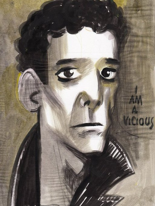 Happy birthday Lou Reed. pic by