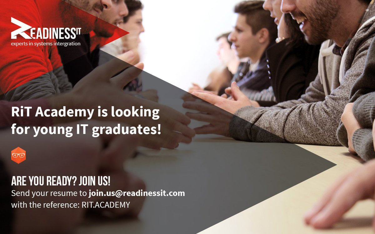 A new RiT Academy is about to start!  Embrace the challenge and apply now!  Check our website for more: https://t.co/Sr4OH1TD7V  #ritacademy https://t.co/D5Zp808ptJ