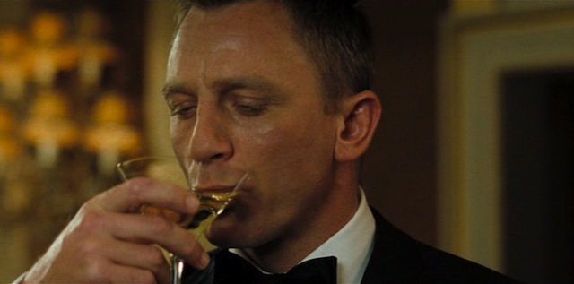 Happy 49th birthday, Daniel Craig! May you enjoy a martini or three.