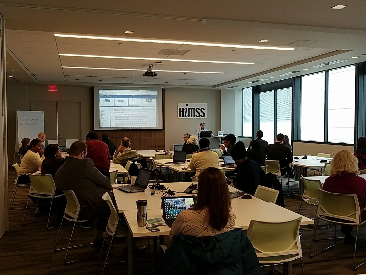 Microsoft's @AdamHecktman teaching at #datadayscle https://t.co/r4RVmZUlcn