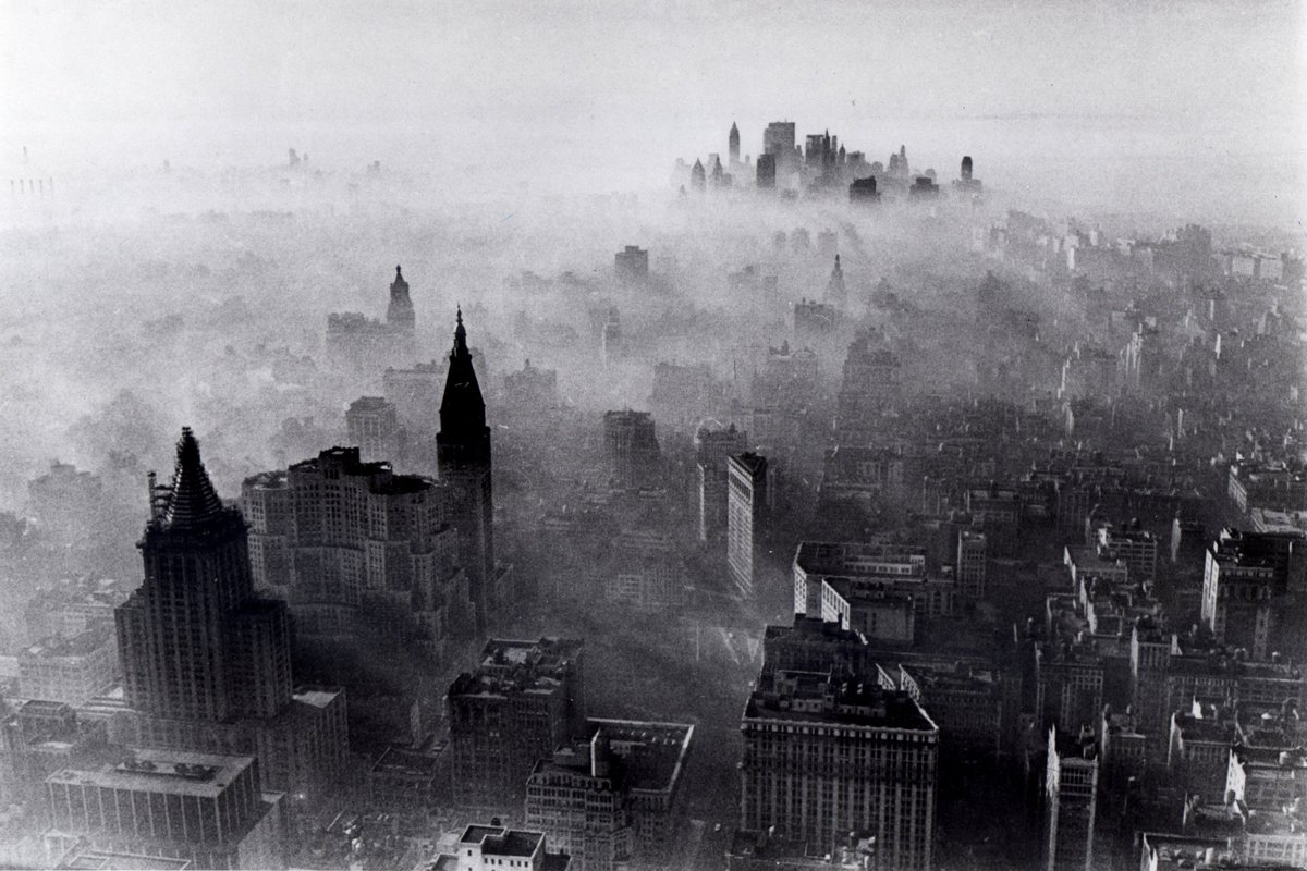 pourmecoffee on smog covered nyc in before job smog covered nyc in 1966 before job killing regulation killed entrepreneurial spirit and smog it also killed smog