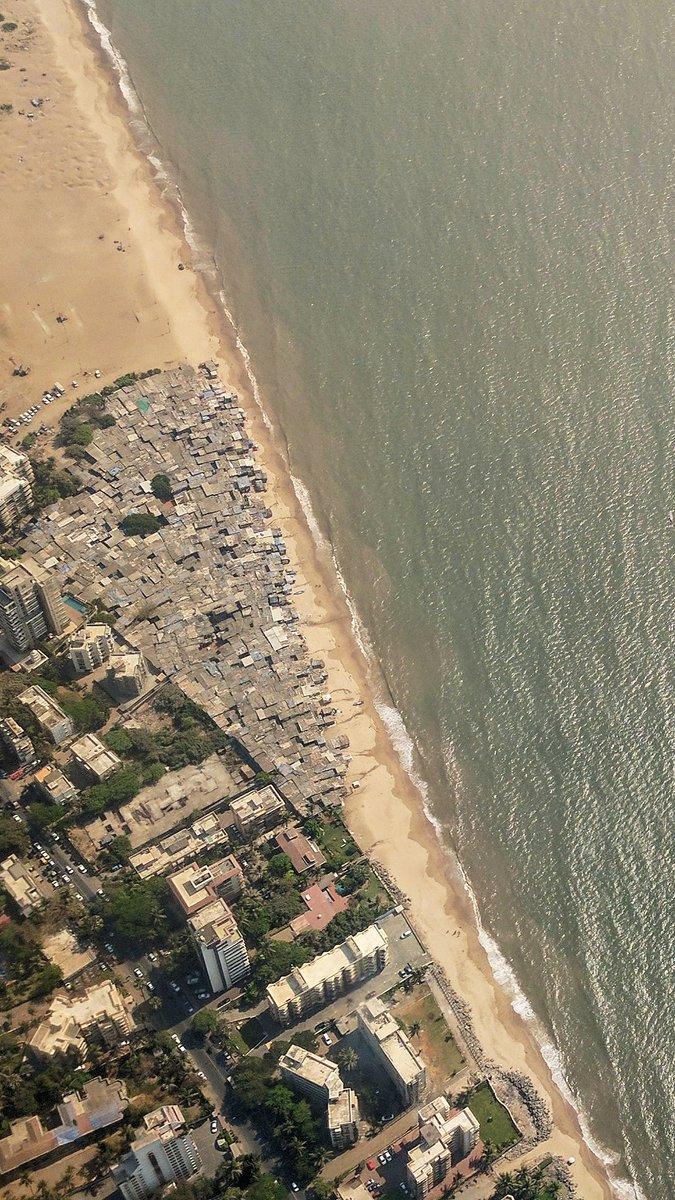 Mumbai. The only place in the world with beachfront slums! #posh #mymumbai https://t.co/kuBLoFSdb8
