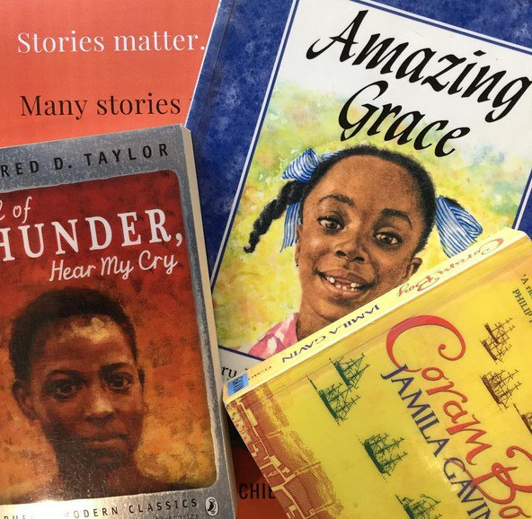 Celebrating #WorldBookDay as part of our Education & Race Justice display  - Many stories matter https://t.co/ytThvJBPfg @diversebooks https://t.co/cDSKfjEXuy