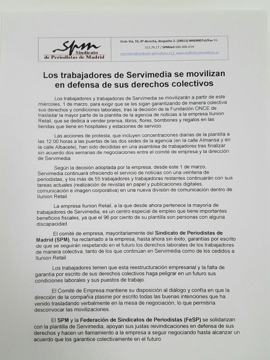 Comité Servimedia (@ComitServimedia) | Twitter
