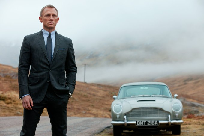 Happy Birthday to Daniel Craig - he has been behind the wheel of some of 007\s most iconic Aston Martins!