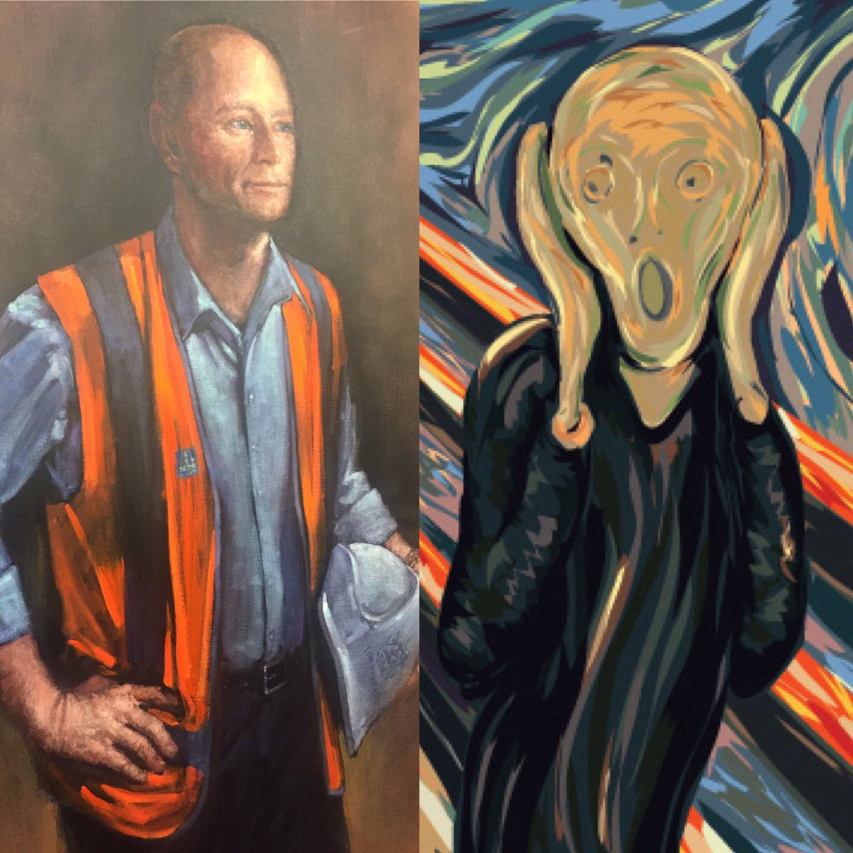 High-vis brought low: Campbell Newman portrait reflects his