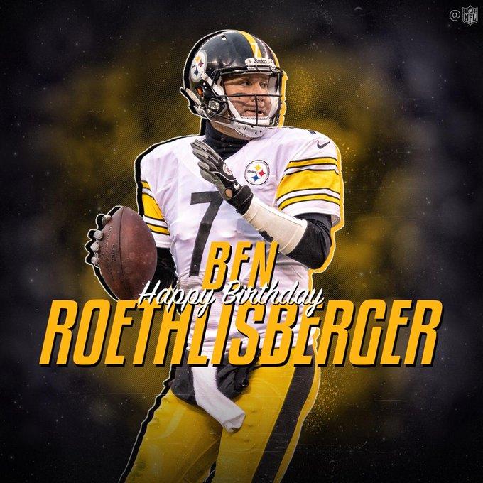 Happy Birthday to 2x Super Bowl champion Ben Roethlisberger!!