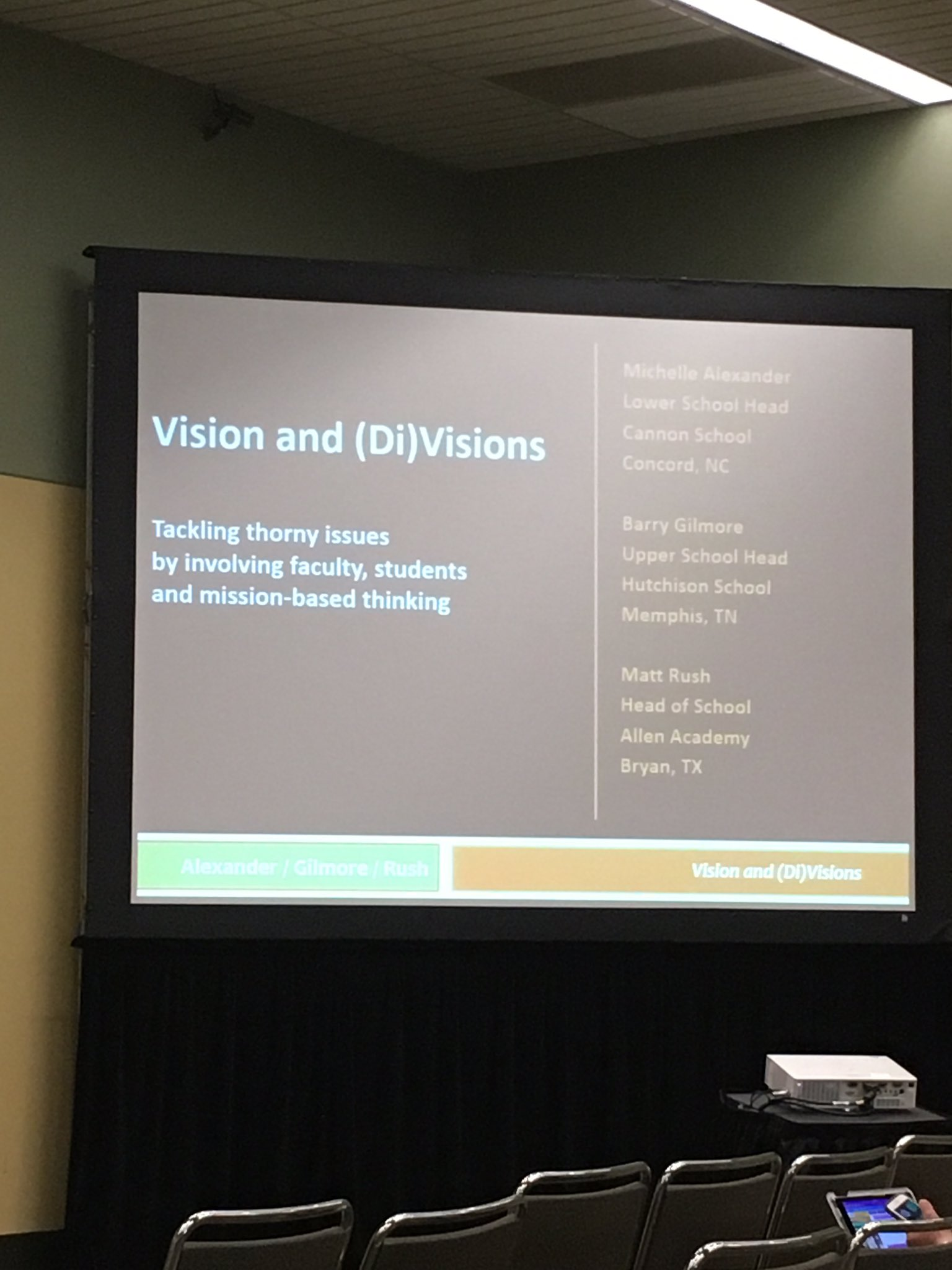 First session! Here we go! #naisac https://t.co/vaIxdZGKCy
