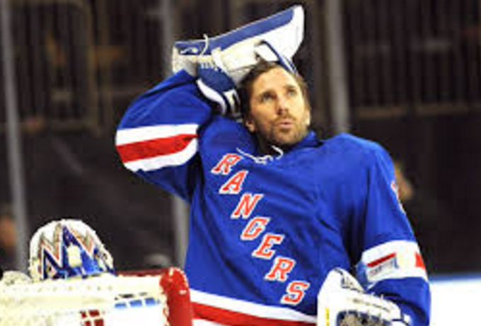 Happy 35th birthday to goalie Henrik Lundqvist, who now qualifies for old-timers hockey.