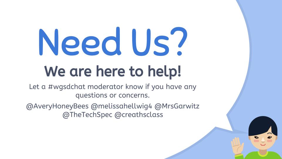 If you have any questions do not be afraid to reach out! Have a great night everyone! #WGSDCHAT https://t.co/miauOTUCPD