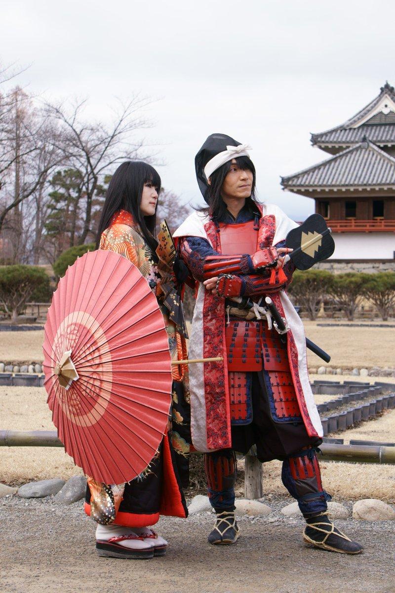 "hidedon on Twitter: ""2.27 小笠原秀政公と登久姫さま・・・2月最後の ..."