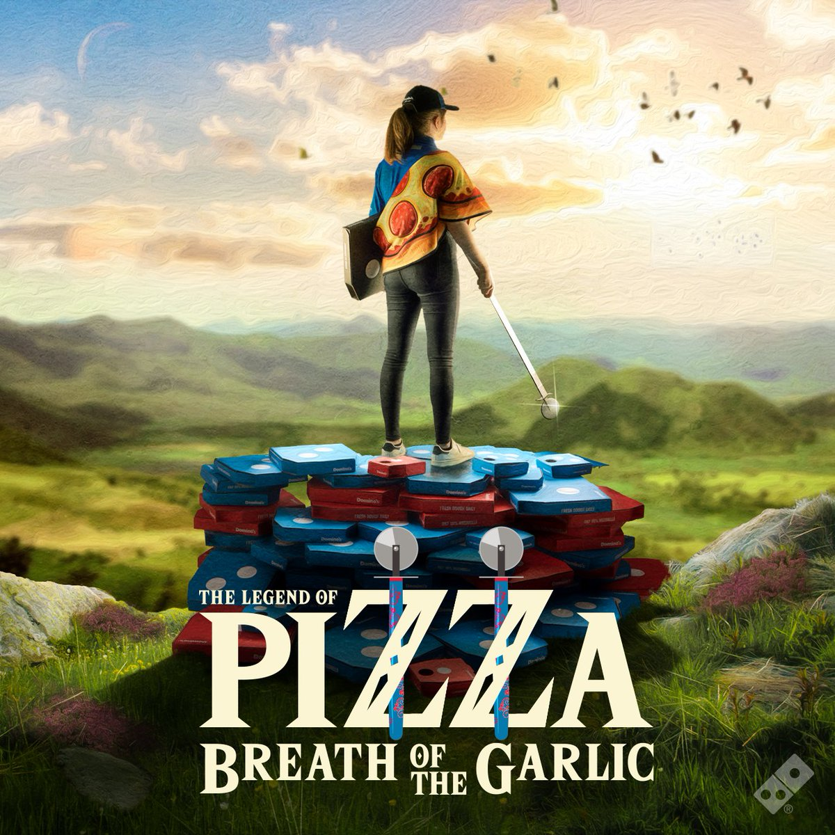 Dominos Pizza Uk On Twitter Tonight We Hyrule