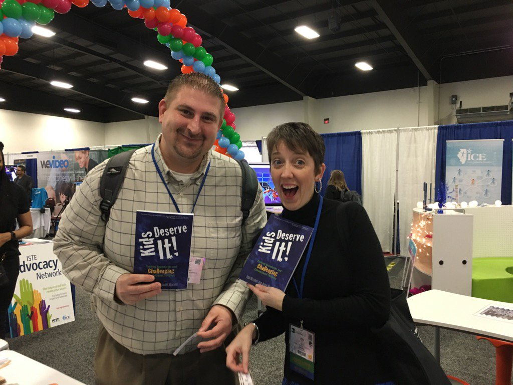 @dkarnoscak @JoyKirr winners in our first round of book give always #kidsdeserveit #ICE17 Stay tuned for more! https://t.co/9H2VhZKeT7