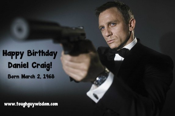 Happy 49th Birthday to Daniel Craig!