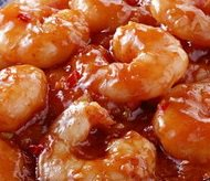 Shrimp with Ginger Sauce
