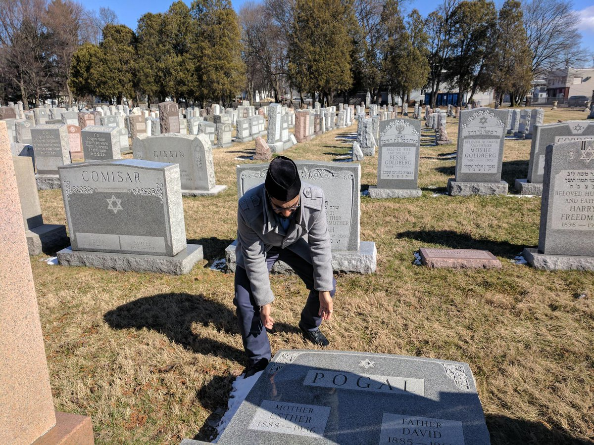 Jewish cemetery in NY vandalized
