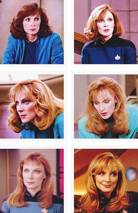Happy birthday Gates McFadden!