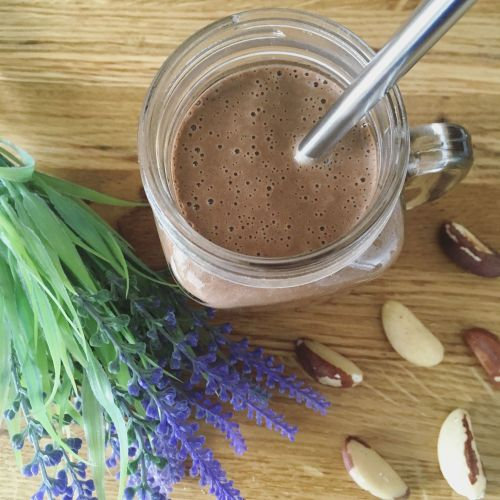 Peanut Butter & Brazil Nut Smoothie Recipe