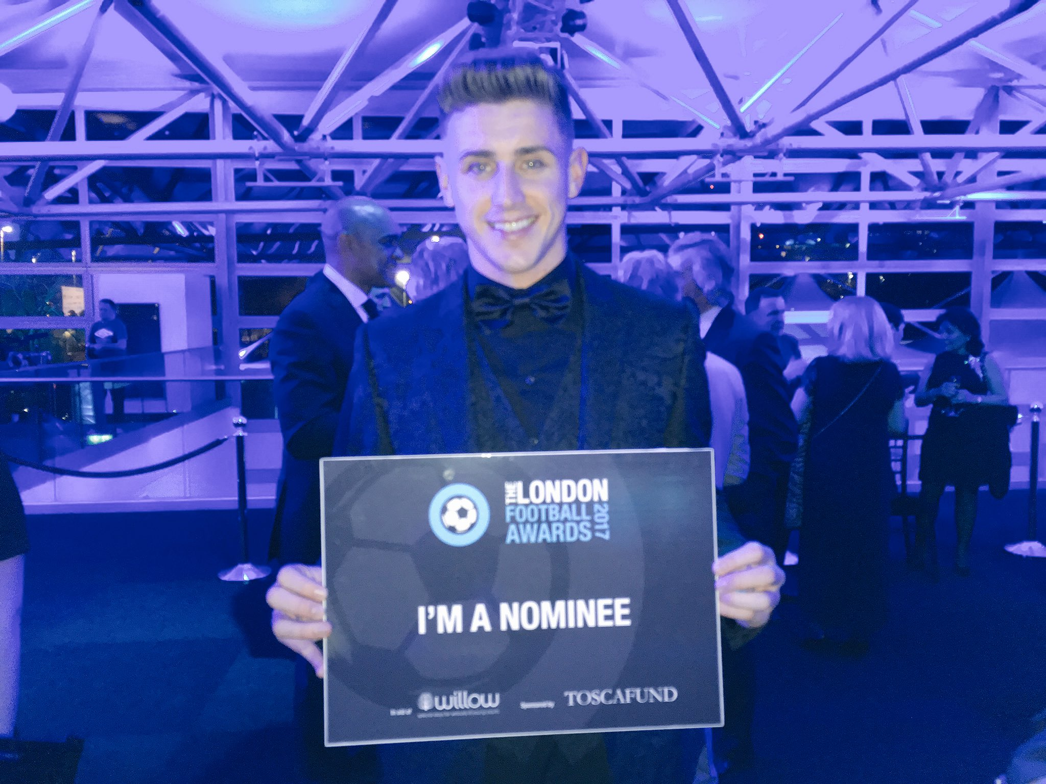 #FulhamFC @ThomasCairney up for the Football League Player of the Year award at the @Willow_Fdn #LFA17 https://t.co/YeB5M7zNAx