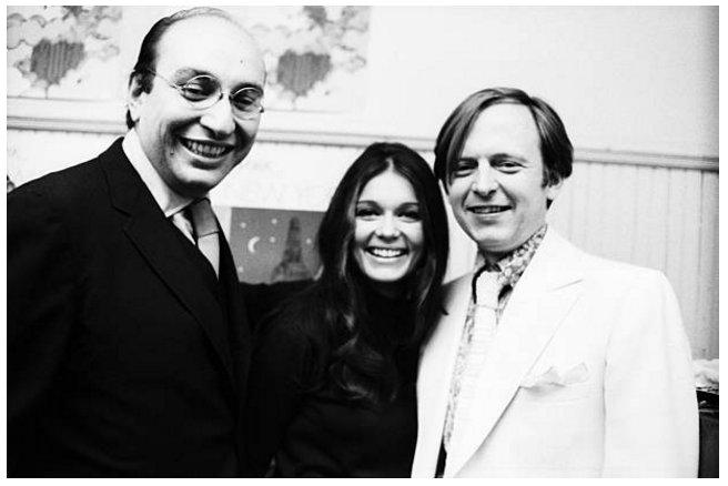 Happy birthday Tom Wolfe With Gloria Steinem & Milton Glaser Photo: David Gahr, November 7, 1967