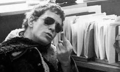 Happy Birthday to one of the great assholes of all time Lou Reed. A true hero and inspiration.