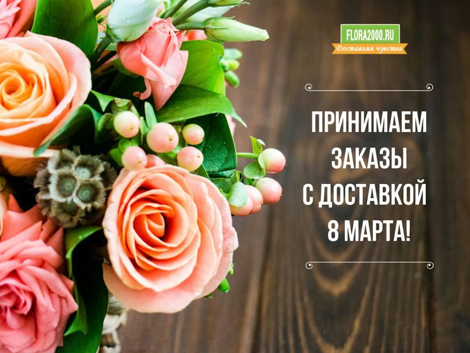 Друзья, до #8Марта осталось меньше недели! :) Спешите оформить заказ сейчас!  > https://t.co/i4MDvlvzcH #flora2000ru #flowers #цветы #букет https://t.co/sYeMpNmRFW