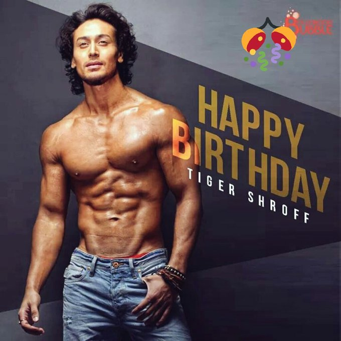 HAPPY BIRTHDAY.. TIGER SHROFF BHAI
