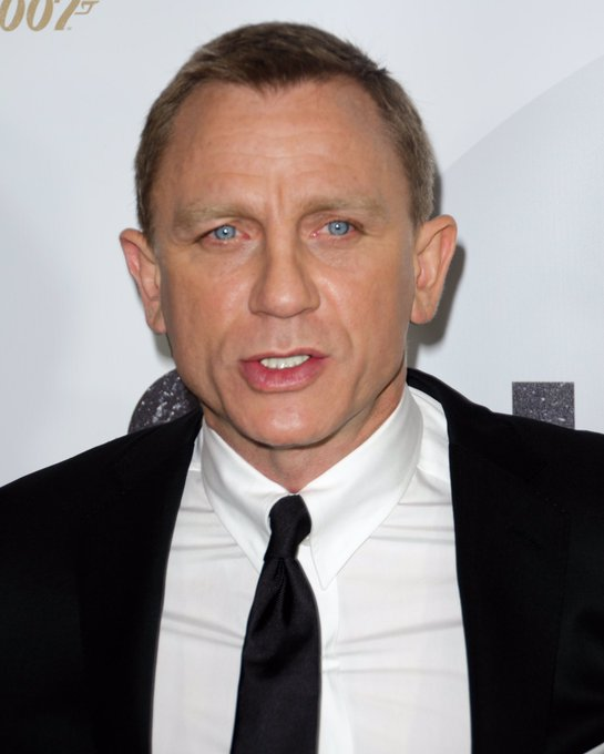 Happy 49th Birthday to Daniel Craig! One of the actors who played James Bond.