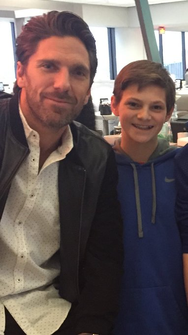 Happy Birthday to John and Henrik Lundqvist!!!! 13 and 35
