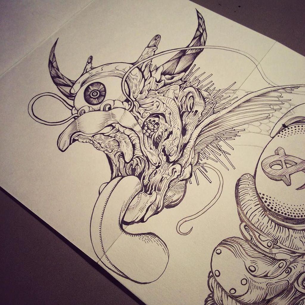 Sh11na 椎名 On Twitter Art Artwork Pen Ink
