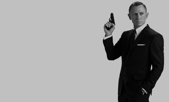 Happy 49th birthday Bond, James Bond AKA Daniel Craig. Born on this day, 1968.
