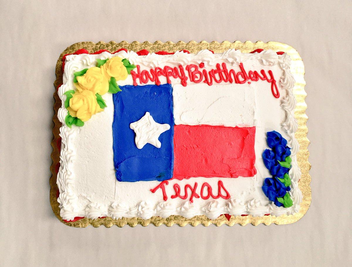 Phenomenal Texas Humor On Twitter Happy Birthday Texas We Got Ya A Cake Personalised Birthday Cards Veneteletsinfo
