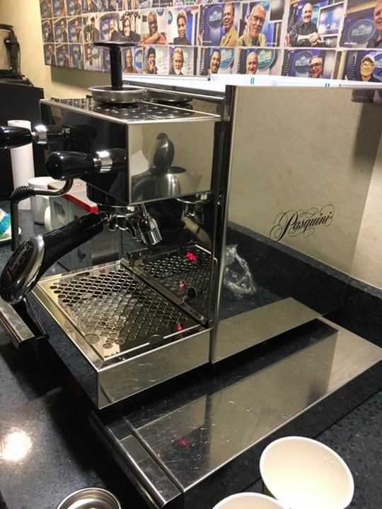 This is the third time over the last few years that Mr. @tomhanks has sent a brand new espresso machine to the White House press corps