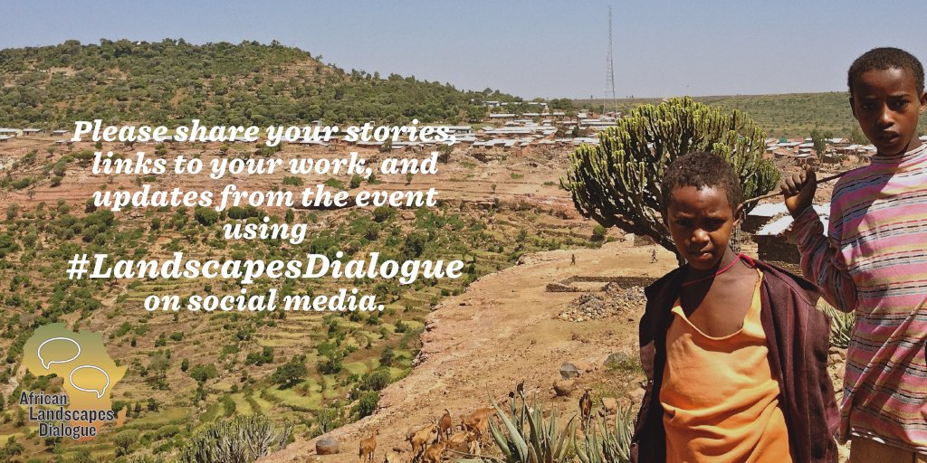 Coming to the African #LandscapesDialogue in Addis? Want to share something with Africa's landscape leaders? Join the conversation! https://t.co/TLemHHUi0p
