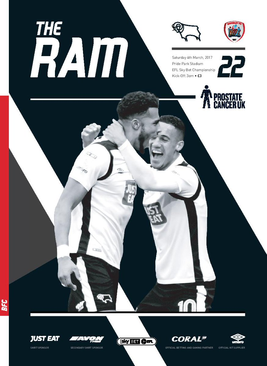 Derby County On Twitter The Ram Saturdays Barnsley