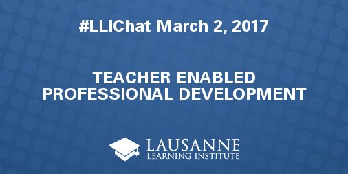 Welcome to #LLIChat! We're all still feeling the high from #LLISW, but let's talk about teacher-led PD tonight. Introduce yourself.. https://t.co/t9LpkKnIwC