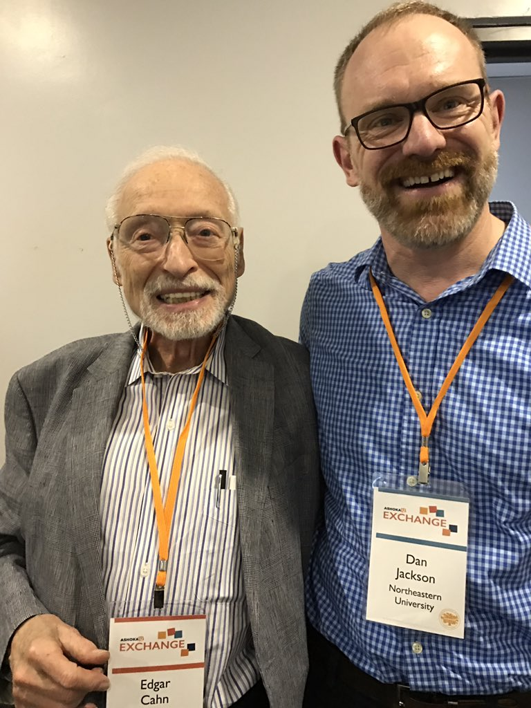 Honored to be with Edgar Cahn at #Exchange2017 #legalchangemakers https://t.co/TAcdykkbrc
