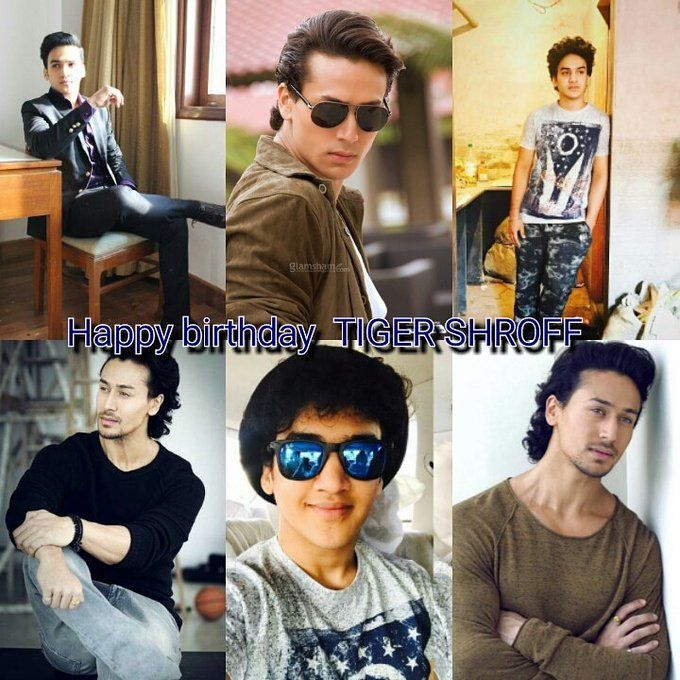 Happy birthday tiger shroff...