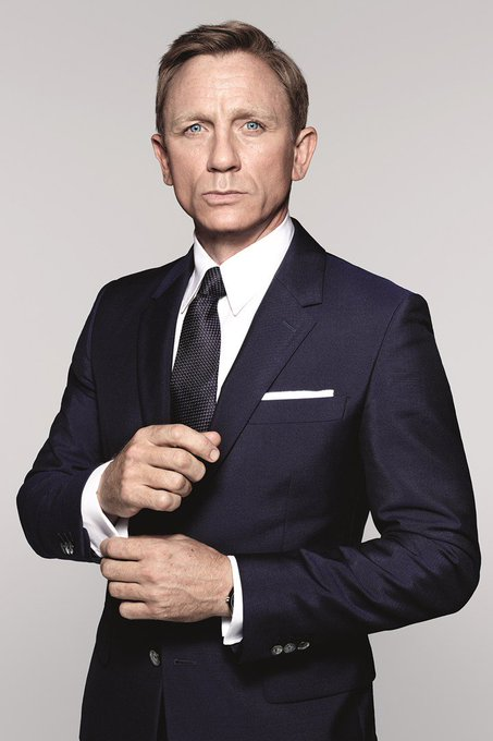 Happy Birthday to Daniel Craig, terrific actor not only just in Bond.