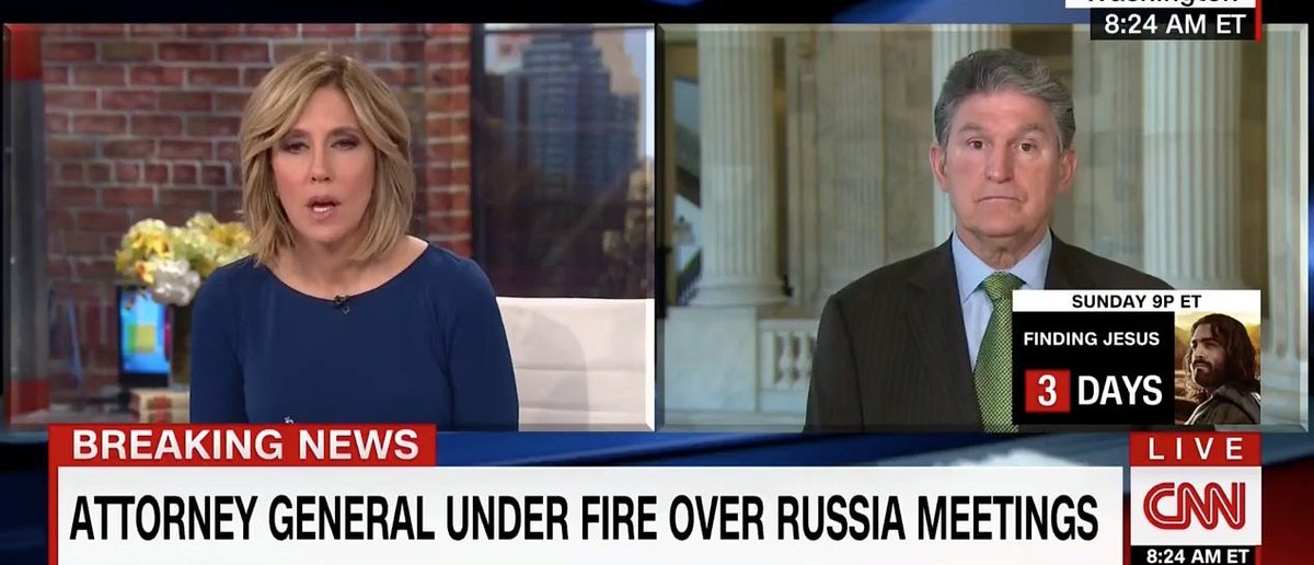 Manchin: 'I've Met With' The Russian Ambassador — 'We Meet With All The Ambassadors' [VIDEO] https://t.co/2zqpBvdNoq