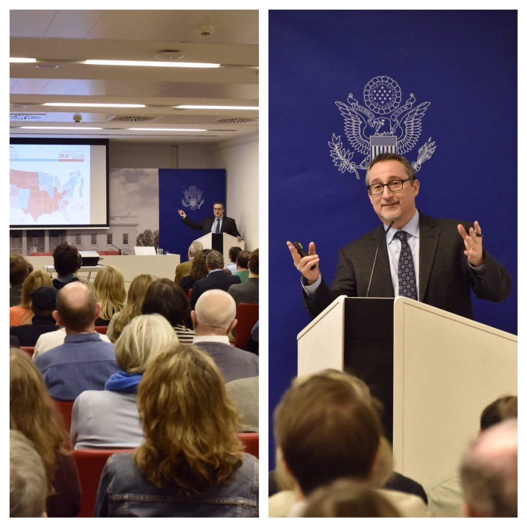 Thanks to Dr Paul Freedman @PoliticsUVA for unpacking #USelections2016 with us <br>http://pic.twitter.com/rz8wGSyhNC