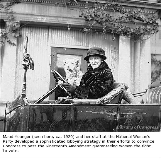 This suffragist helped convince the #Senate to pass the 19th Amendment https://t.co/1LpvlPvh4K #WomensHistoryMonth https://t.co/W4NEe5ehyt