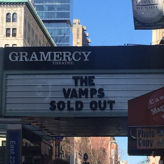 TONIGHT -- *SOLD OUT* @TheVampsBand w/ @Citizen4Music! Doors: 6PM. Show: 7PM. https://t.co/ypqiMNV5US