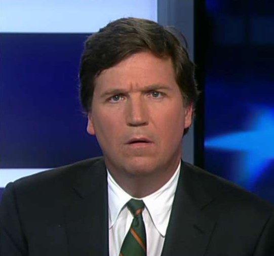 """Bob Cesca on Twitter: """"Tucker Carlson always looks like ..."""